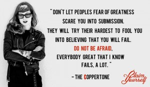 The Coppertone on Fears